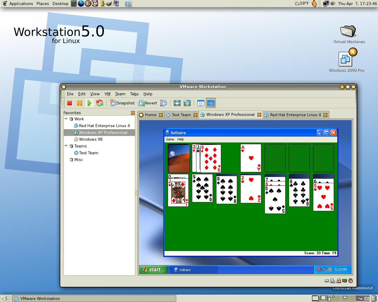 Workstation 5 for Linux Screenshots   ChipLog